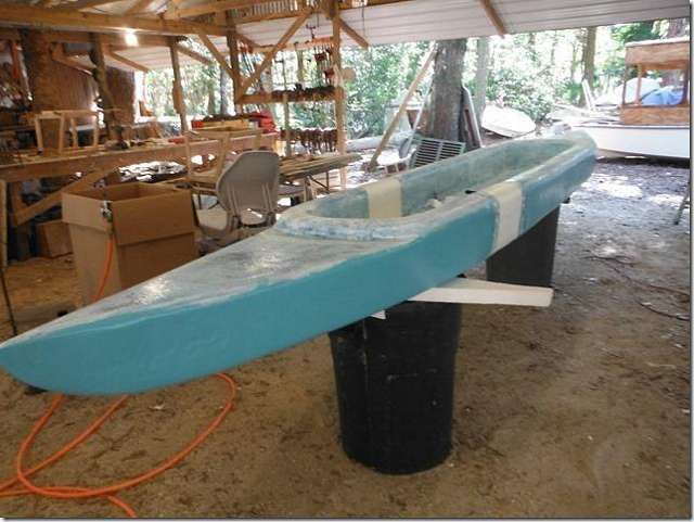 how to build a styrofoam boat