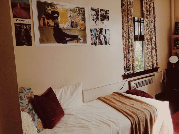 Soft and cozy college dorm at Miami University in Oxford, Ohio