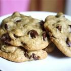 Foto recept: Grote chocolate chip koekjes