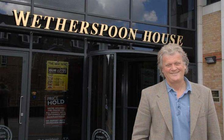 Mr Wetherspoon: Tim Martin