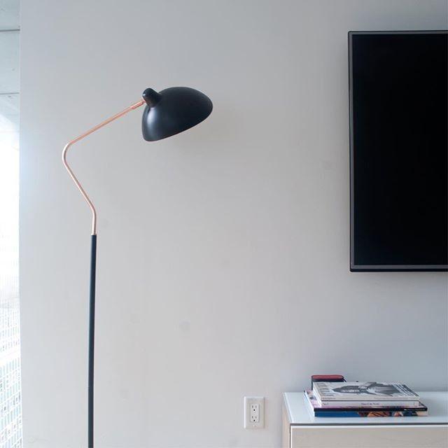 Leap Black Floor Lamp Black Floor Lamp Floor Lamp Lamp