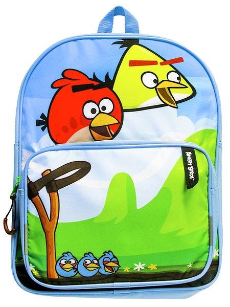 Angry Birds -reppu on varustettu kahdella jämäkällä vetoketjutaskulla ja pehmustetuilla olkahihnoilla. Repun koko 29 x 12 x 37 cm. Materiaalina on kestävä nylon.  Vain 9,90€!