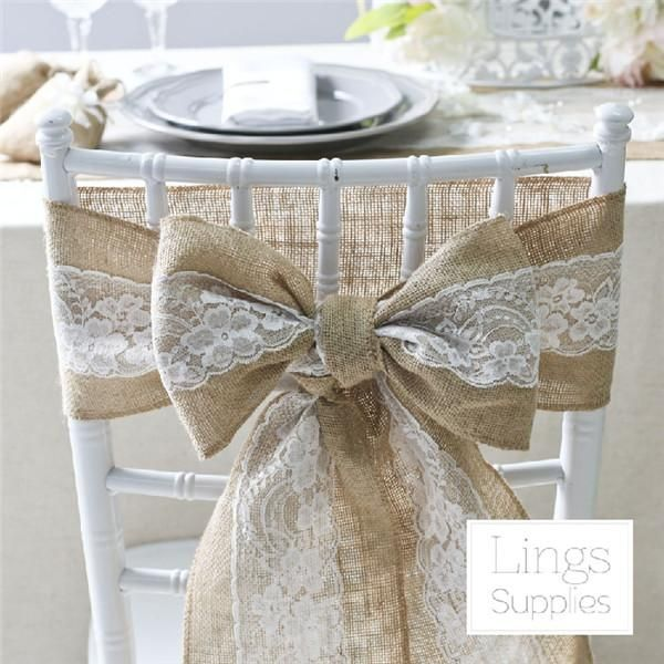 organza sashes and red sash beltthat suits your style and use folding chair cover to decorate the chairs better. Pick some 100 pcs free shipping 15cm w * 275cm l burlap hessian jute and lace chair sash for vintage rustic wedding lace chair sashes provided by hkanjie.