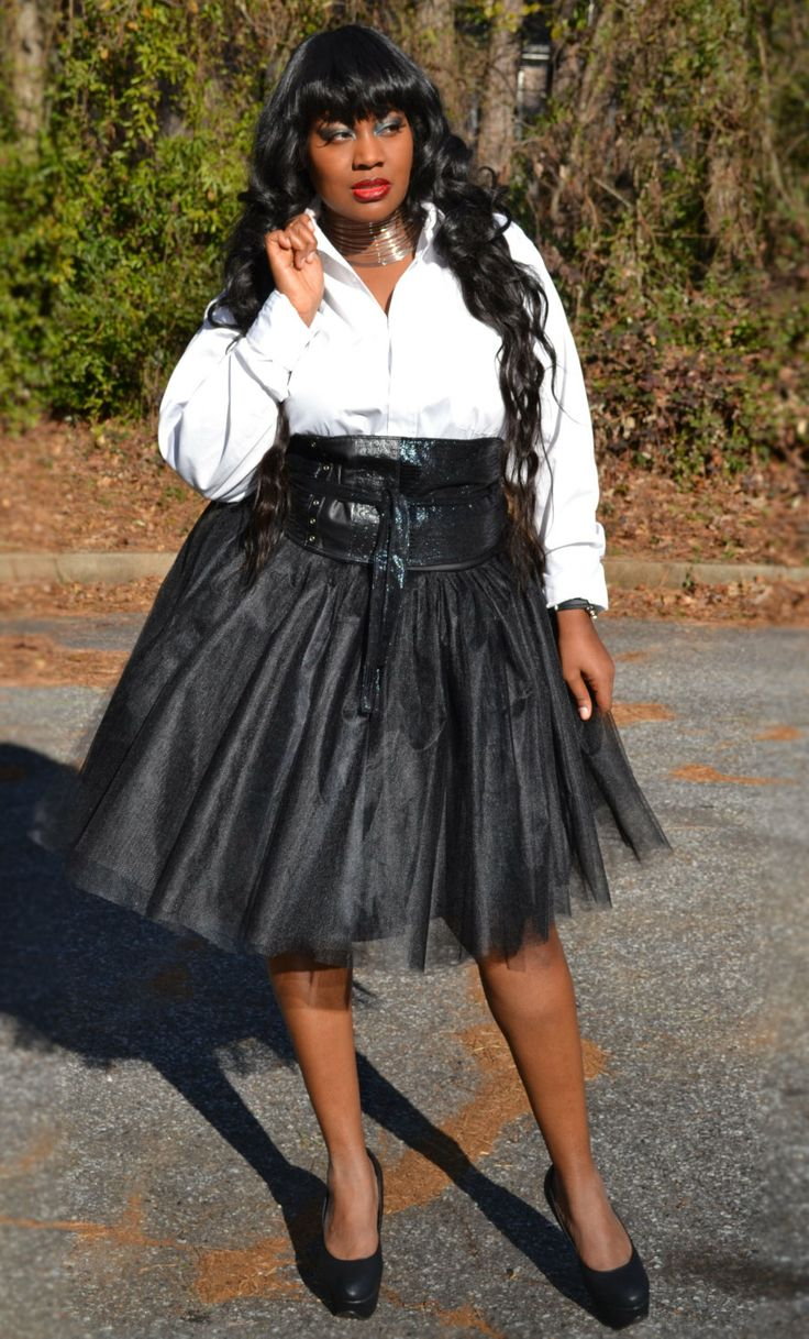 Tulle Tutu Skirt  Black Plus Size by SpoiledDiva on Etsy, $76.00