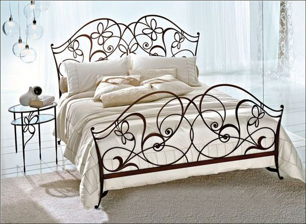 Beautiful bedrooms wrought iron2