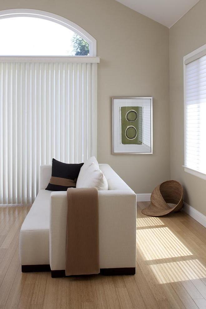 Verticale lamellen voor grote ramen, eenvoudig te bestellen in de webshop van Maatstudio.nl