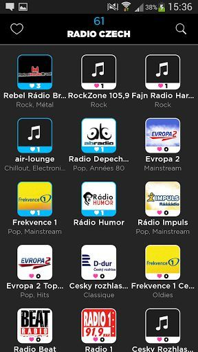 Czech Radio App is the easiest for your phone<p>Over 200 Czech radios available , without limits and high quality<p>Our team has sought to make the Czech Radio as simple as possible compared to other more complex radio application, while retaining the essential.<p>You can:<br>- Navigate through 200 Czech radios available<br>- Search Czech radio by name<br>- Search Czech radio among 40 categories ( News, Pop, Electro ... )<br>- Add Bookmark your favorite radio stations Czech<p>The social…