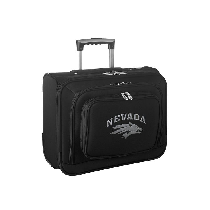 Nevada Wolf Pack 16-in. Laptop Wheeled Business Case, Black