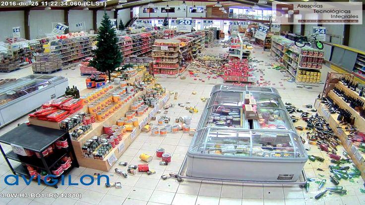 Avigilon en Chile Terremoto Quellon Dic 2016