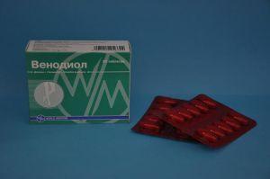 Таблетки Венодиол: инструкция по применению, отзывы, аналоги, цена