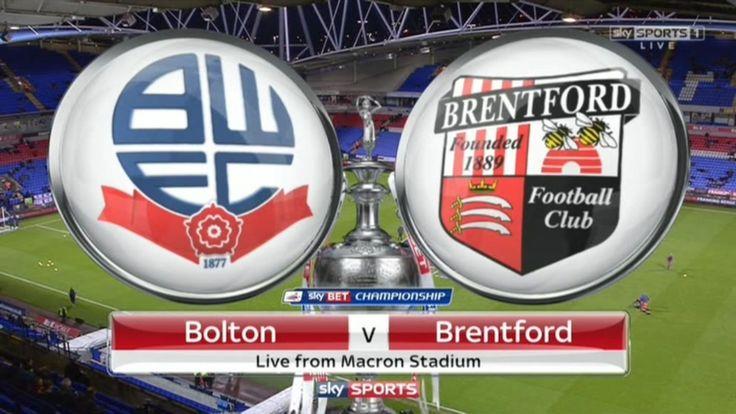 โบลตัน vs เบรนท์ฟอร์ด วิเคราะห์บอลแชมป์เปี้ยนชิพอังกฤษ Bolton vs Brentford Championship English