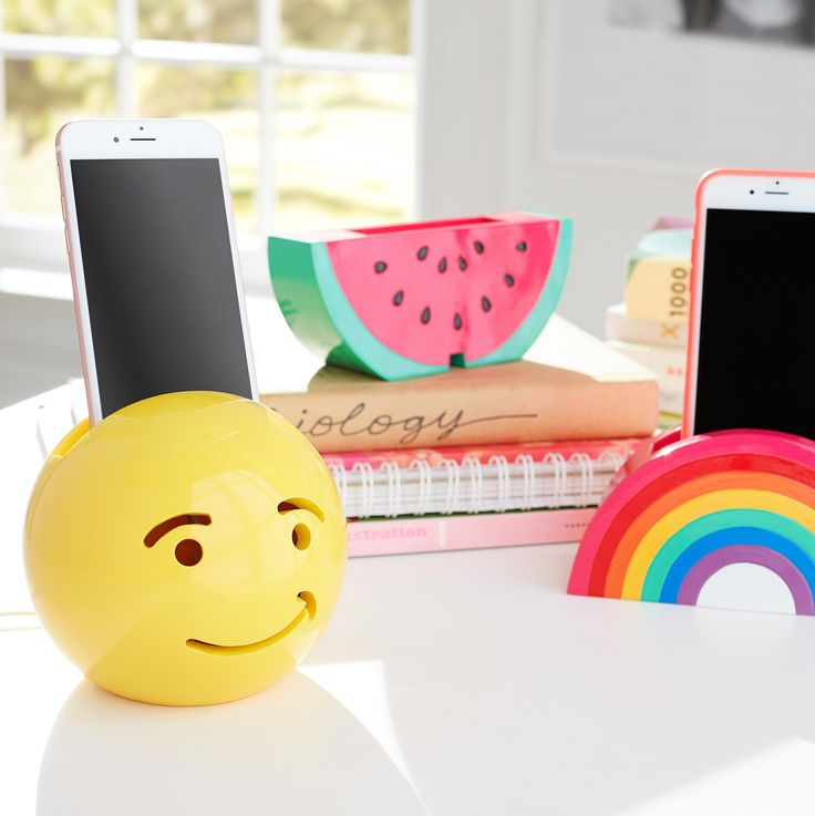 Does organization get any cuter? These phone holders will charge your cell in style.