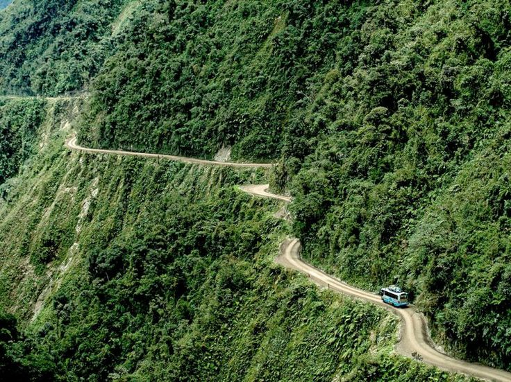 "This Bolivian route's nickname really says it all — sometimes, it's simply called ""Death Road."""