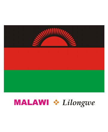 Malawi Flag Coloring Pages