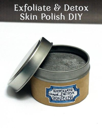 Beauy DIY - Natural Homemade Exfoliate and Detox Skin Polish Recipe for Normal, Combination and Oily Complexions