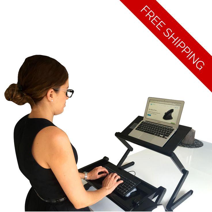 Easy Standing Desk - Ergonomic Height Adjustable Buy #standingdesk