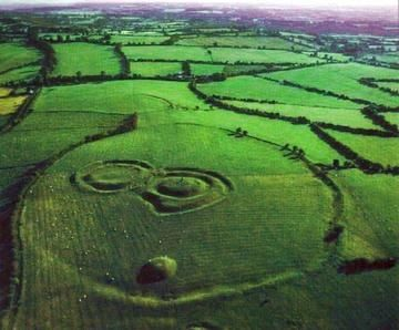 Celtic:  The Hill of Tara, the ancient seat of Ireland's High Kings.
