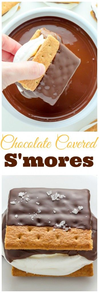 Chocolate Covered S'mores | Recipe | Chocolate Covered and Chocolate