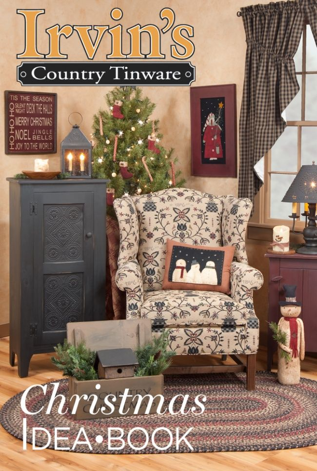 Irvin's Country Tinware Christmas Idea Book - a great ...