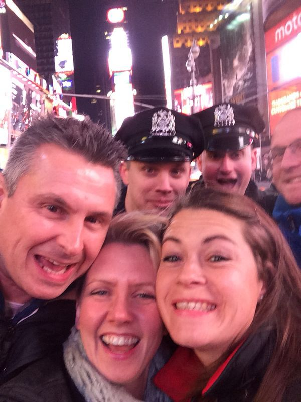 Photo bombed in NYC !!