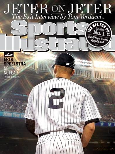 Sports Illustrated Derek Jeter Cover 2014