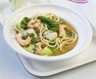 Thai-style fish broth with greens