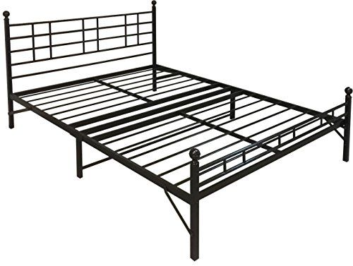 best price mattress model h easy setup steel platform bedsteel bed frame