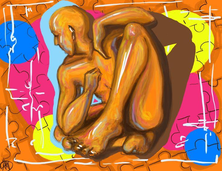 Alessia V, 'Big foot: freestyler v.2'. digital 2014.