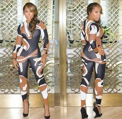 Welcome to Mabel Naija's Blog (MNB): Steve Harvey's wife looking sexy on Jumpsuit to Di...
