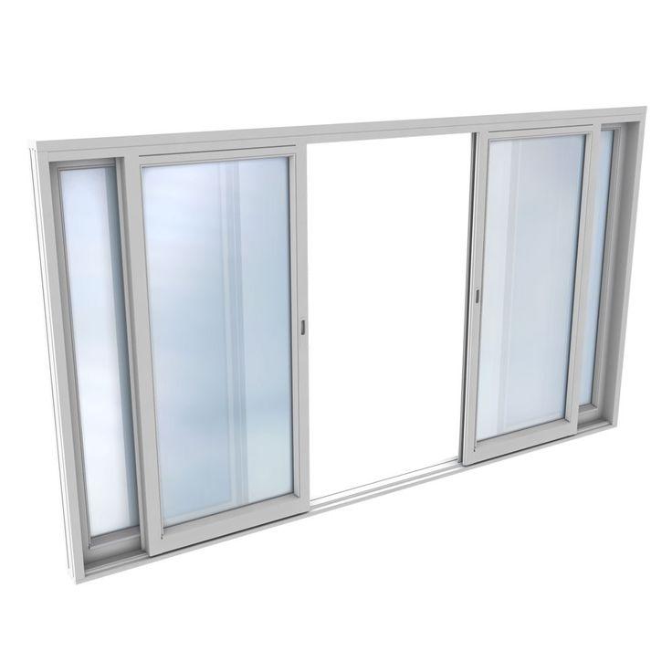 Skyvedør Natre Tre Hvitmalte 3-lags glass 4-Rams fra Bygghjemme. Om denne nettbutikken: http://nettbutikknytt.no/bygghjemme-no/