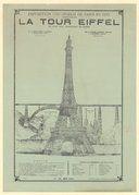 Exposition Universelle de Paris en 1889. La Tour Eiffel, le plus haut monument du globe... Prix : 0,20 centimes : [affiche] / [non identifié] -- 1888 -- images