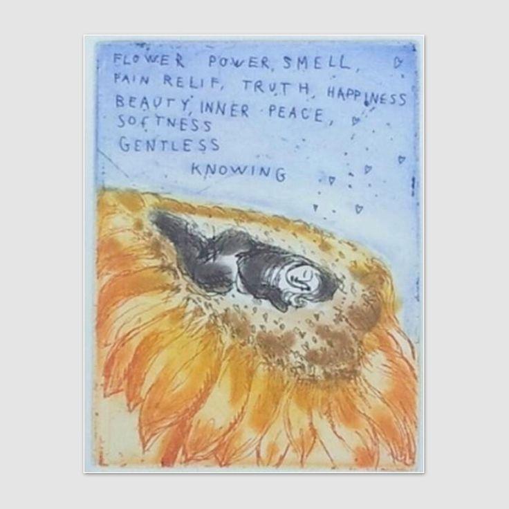 Flower power, smell, pain relief - Björg Thorhallsdottir