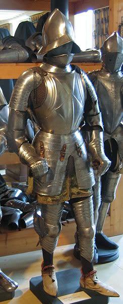 Armadura - 1475-1500 -  Musée de l'Armée (Les Invalides), París