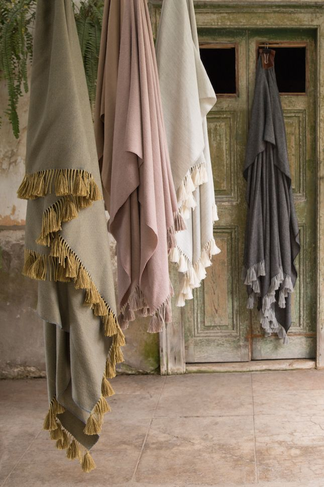 Premium Baby Alpaca throw with hand made tassels. The softest, most luxurious baby alpaca throws.