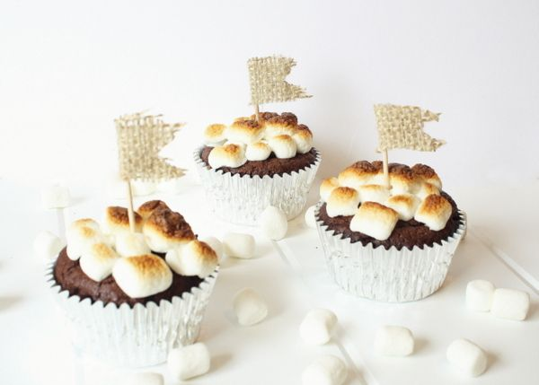 Smores Cupcakes: Idea, Free S More, Sweet, Cupcake Recipes, Gluten Free Cupcakes, Cupcakes Smores, Cupcakes Gluten Free