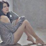 Sophia Latjuba Tampil Seksi Dengan Gaun Transparan