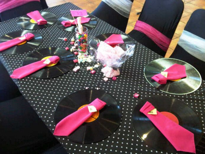 decoration ideas grease themed party - Get Lots of Fun With Grease Themed Party – Home Party Theme Ideas
