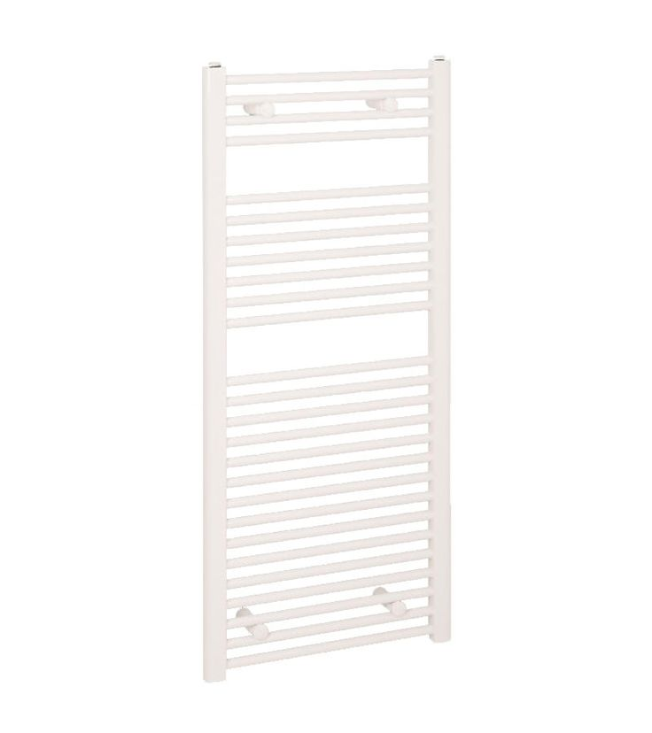 Reina Diva Flat Towel Radiator - White – Great Rads Ltd.