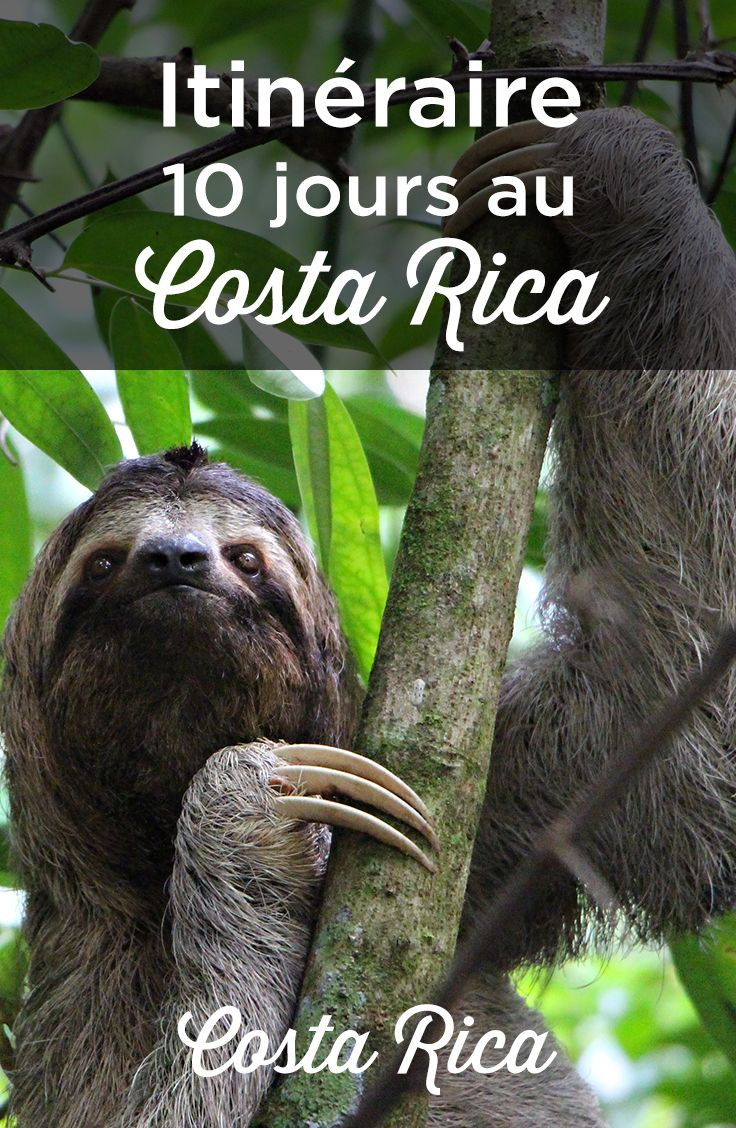 Itinerario de # 10 días a #CostaRica. Mis consejos para organizar tu viaje …