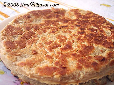 Lolo (Sweet loli) | ( KAMLA ) 3 cup atta 1 cups maida 3/4 cup ghee 1/2 cup warm water add 1 1/2 cup sugar 1 cup chopped pistas n almonds roasted saunf khuskhus KNEAD TOG N MAKE HARD DOUGH DIVIDE INTO 8-10 N ROLL N COOK ON SLOW FIRE. WHEN READY REMOVE N PUT IN A THALI WITH LOTS OIL . LEAVE IT IN TILL OTHER ONE IS READY . REMOVE N TRANFER TO A PLATE