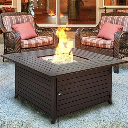 Best Choice Products BCP Extruded Aluminum Gas Outdoor Fire Pit Table  #BestChoiceProducts