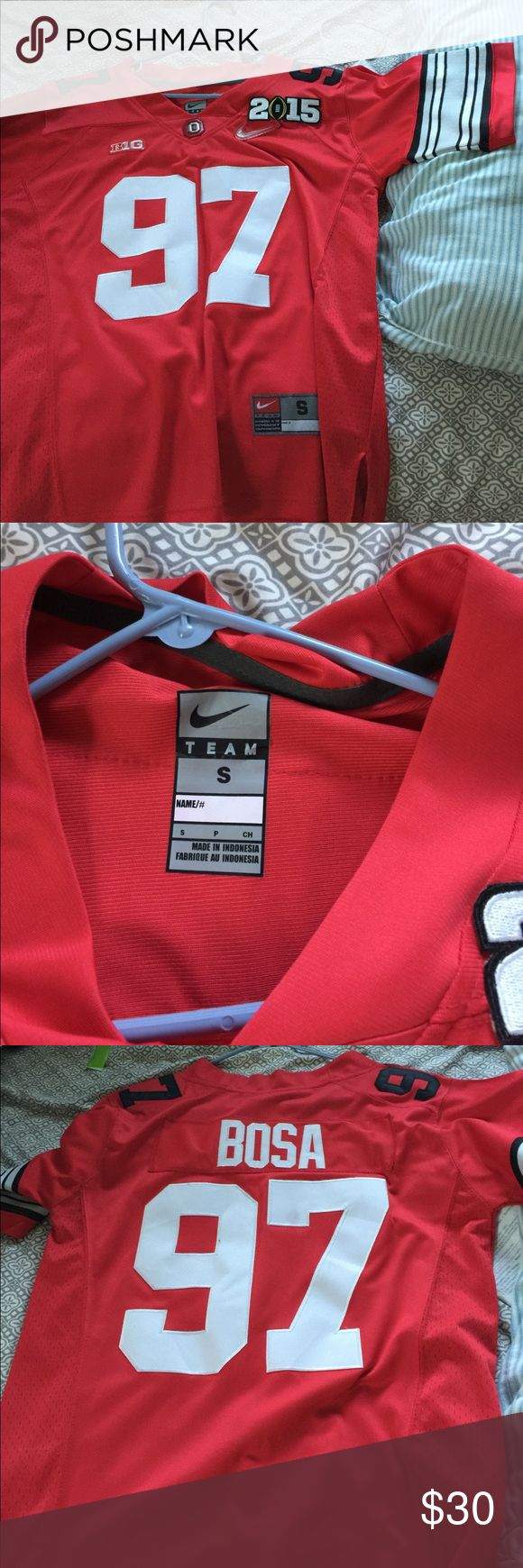 Nike Ohio state jersey Good condition never worn Tops