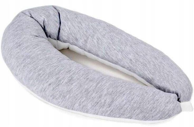Poofi Poduszka Stabilizacyjna Walek Pure Szaro Bia Pillows Travel Pillow