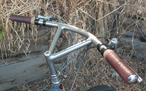 Nitto Bullmoose Bar, dull bright FILLET BRAZED - 150mm - 161945