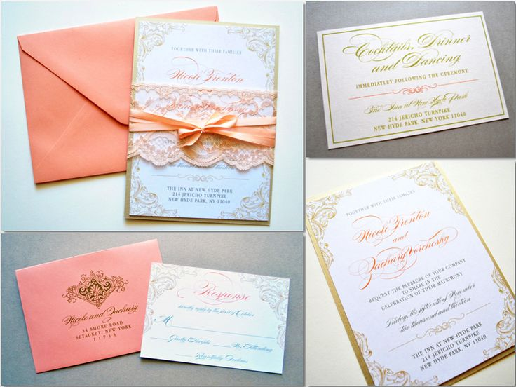 203 best wedding invitations images on pinterest | cards, marriage, Wedding invitations