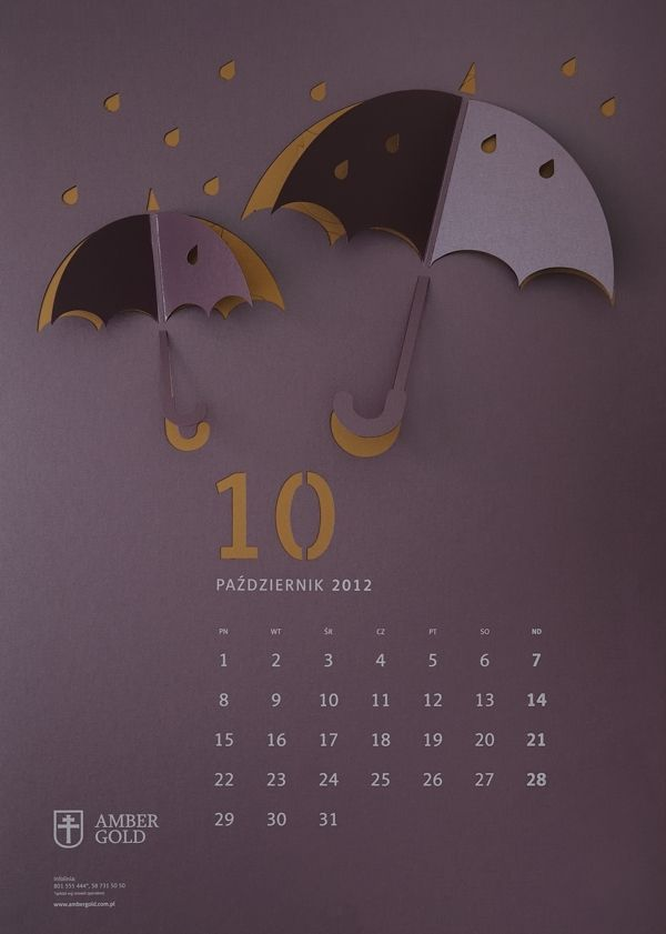 CUT OUT / wall calendar on Behance