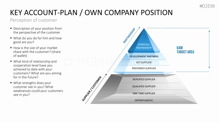 Account Plan Template Ppt Fresh Key Account Management Powerpoint