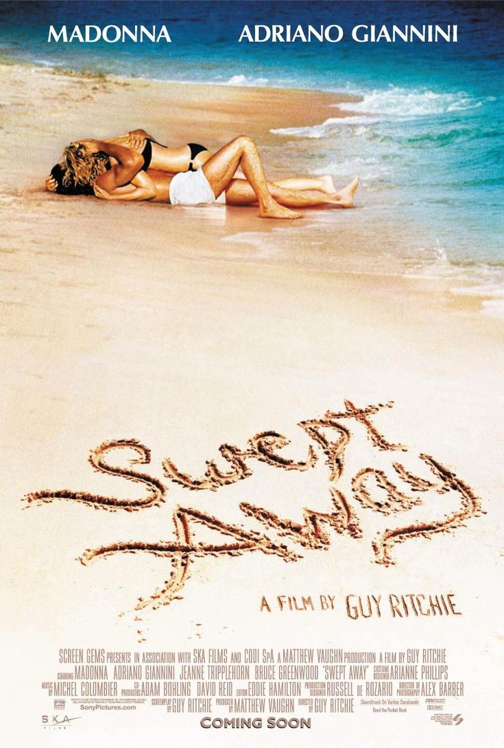 Swept Away , starring Madonna, Adriano Giannini, Bruce Greenwood, Elizabeth Banks. A snooty socialite is stranded on a Mediterranean island with a communist sailor. #Comedy #Romance