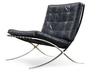 Barcelona, fåtölj, stol, Ludwig van ren Rohe, klassisk, design, 20-tal