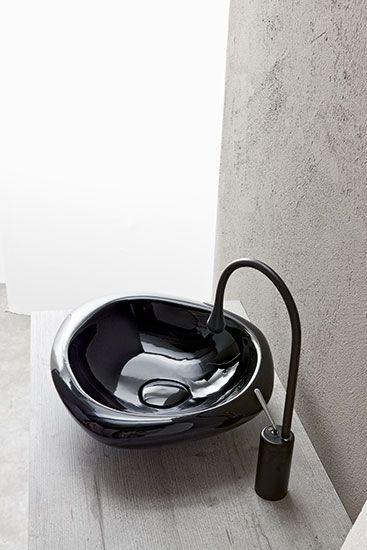 MastellaDesign - Sasso - lavabo soprapiano